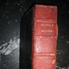 Militaria: TRIBUNALES MILITARES Y JURISDICCIONES SANTIAGO BENITO 1886 MADRID. Lote 104475811