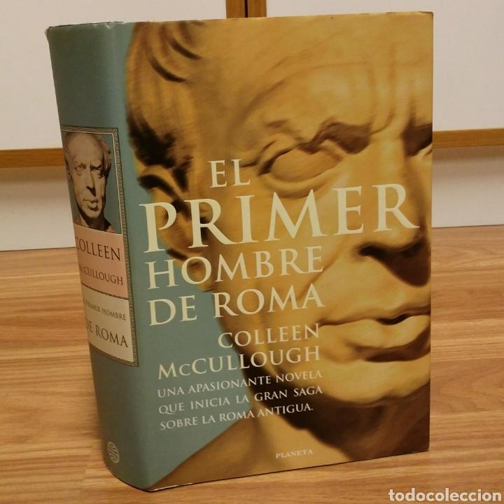 El primer hombre de roma - colleen mccullough - Vendido en