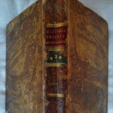 Militaria: LIBRO HISTORIA SECRETA DE BONAPARTE,NAPOLEON, SIGLO XIX, AÑO 1813, TOMO II,SUS GENERALES,POLITICOS. Lote 104699827