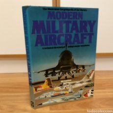 Militaria: THE ILLUSTRATED ENCYCLOPEDIA OF THE WORLD´S. MODERN MILITARY AIRCRAFT - AVIONES COMBATE GUERRA. Lote 104874947