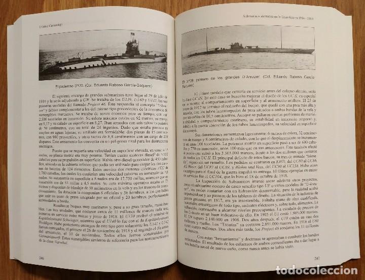 Militaria: SUBMARINOS ALEMANES EN LA GRAN GUERRA 1914 - 1918 - ALMENA - UBOAT - UBOOT - PRIMERA GUERRA MUNDIAL - Foto 2 - 105119723