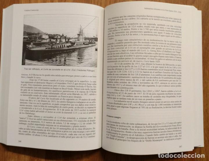 Militaria: SUBMARINOS ALEMANES EN LA GRAN GUERRA 1914 - 1918 - ALMENA - UBOAT - UBOOT - PRIMERA GUERRA MUNDIAL - Foto 4 - 105119723