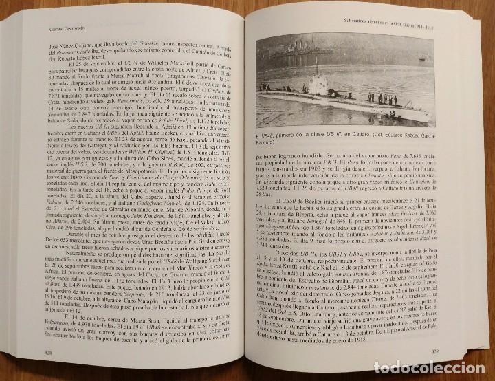 Militaria: SUBMARINOS ALEMANES EN LA GRAN GUERRA 1914 - 1918 - ALMENA - UBOAT - UBOOT - PRIMERA GUERRA MUNDIAL - Foto 5 - 105119723