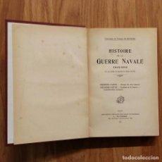 Militaria: HISTOIRE DE LA GUERRE NAVALE 1914-1918 - GUERRA NAVAL PRIMERA GUERRA MUNDIAL - DENIS DE RIVOYRE. Lote 105122783