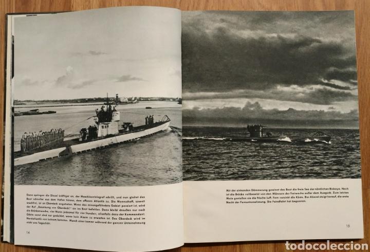 Militaria: 1942 - U-Boot auf Feindfahrt U-BOAT SUBMARINOS ALEMANES SEGUNDA GUERRA MUNDIAL KRIEGSMARINE - Foto 2 - 105359426