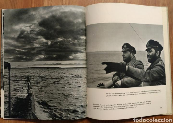 Militaria: 1942 - U-Boot auf Feindfahrt U-BOAT SUBMARINOS ALEMANES SEGUNDA GUERRA MUNDIAL KRIEGSMARINE - Foto 3 - 105359426