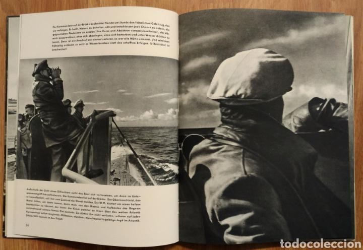 Militaria: 1942 - U-Boot auf Feindfahrt U-BOAT SUBMARINOS ALEMANES SEGUNDA GUERRA MUNDIAL KRIEGSMARINE - Foto 4 - 105359426