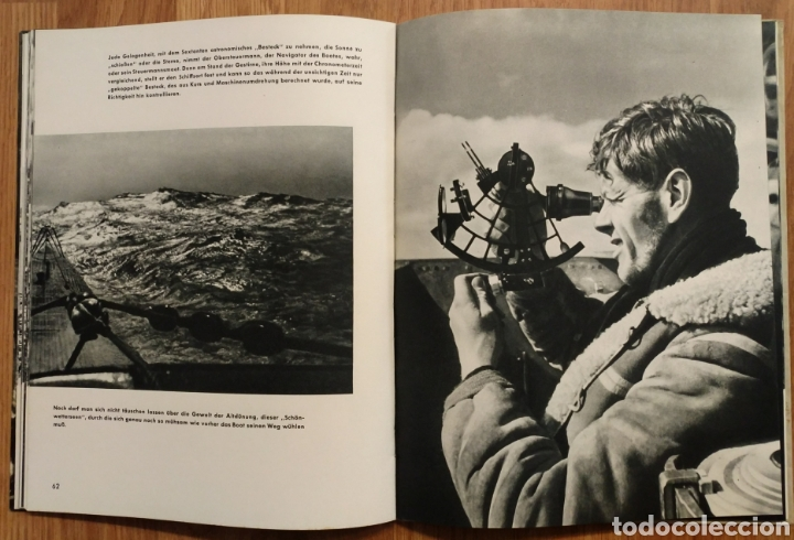 Militaria: 1942 - U-Boot auf Feindfahrt U-BOAT SUBMARINOS ALEMANES SEGUNDA GUERRA MUNDIAL KRIEGSMARINE - Foto 7 - 105359426