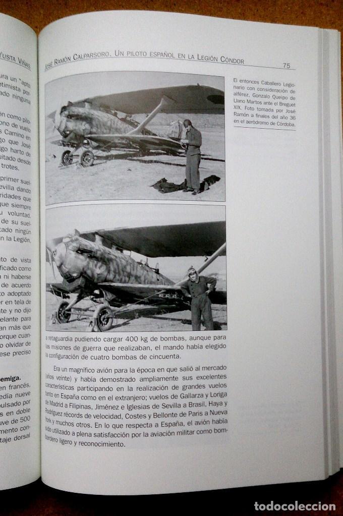 Militaria: JOSE LUIS DE CALPASORO, UN PILOTO ESPAÑOL EN LA LEGION CONDOR - Foto 3 - 115543492