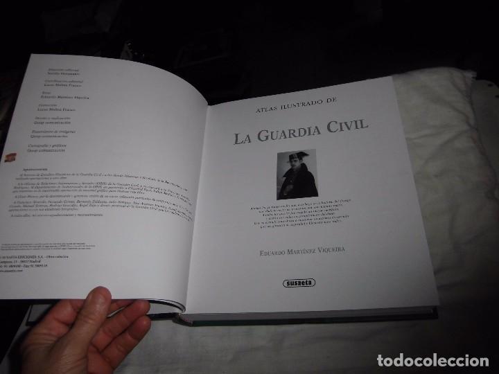 Militaria: ATLAS ILUSTRADO DE LA GUARDIA CIVIL.EDUARDO MARTINEZ VIQUEIRA.SUSAETA - Foto 3 - 105591699