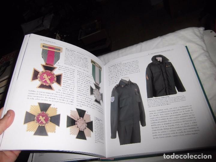Militaria: ATLAS ILUSTRADO DE LA GUARDIA CIVIL.EDUARDO MARTINEZ VIQUEIRA.SUSAETA - Foto 7 - 105591699