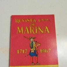 Militaria: REVISTA GENERAL DE MARINA 1717-1967.. Lote 105641587