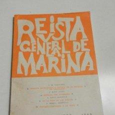 Militaria: REVISTA GENERAL DE MARINA NOVIEMBRE 1965 TOMO 169.. Lote 105642599