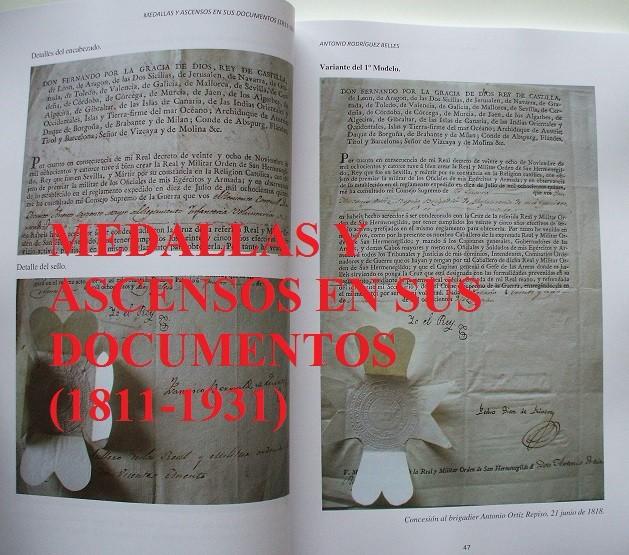 Militaria: Medallas y ascensos en sus documentos 1811-1931 - Foto 3 - 106978926