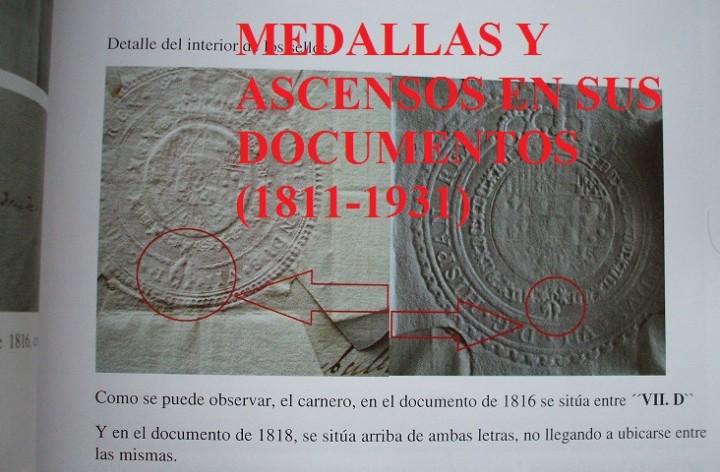 Militaria: Medallas y ascensos en sus documentos 1811-1931 - Foto 4 - 106978926