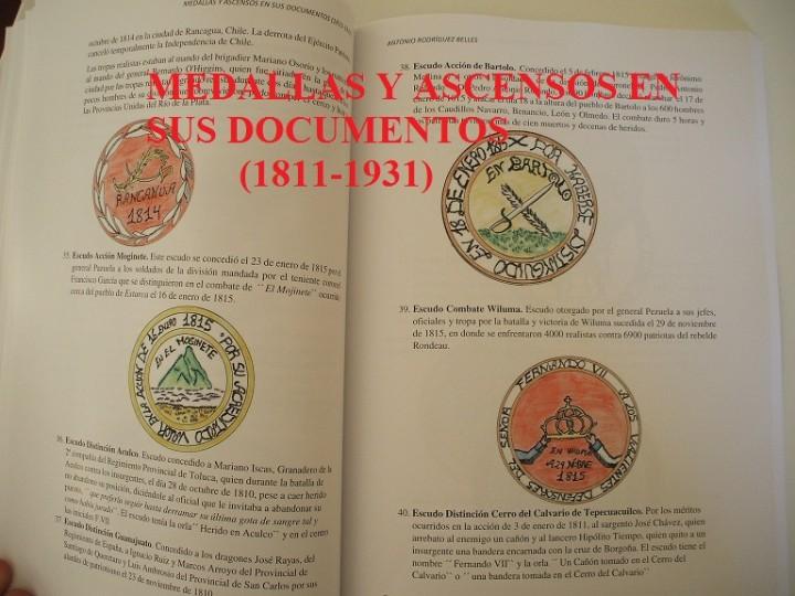 Militaria: Medallas y ascensos en sus documentos 1811-1931 - Foto 5 - 106978926