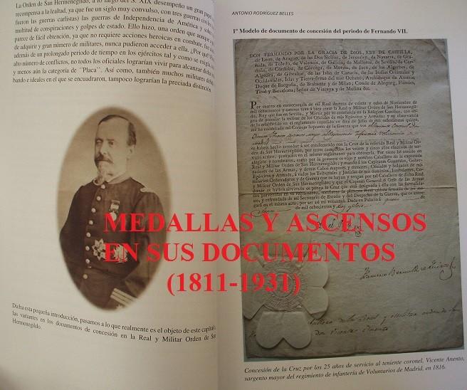 Militaria: Medallas y ascensos en sus documentos 1811-1931 - Foto 6 - 106978926