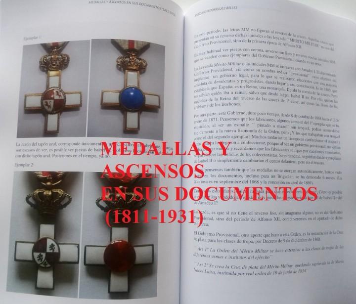 Militaria: Medallas y ascensos en sus documentos 1811-1931 - Foto 7 - 106978926