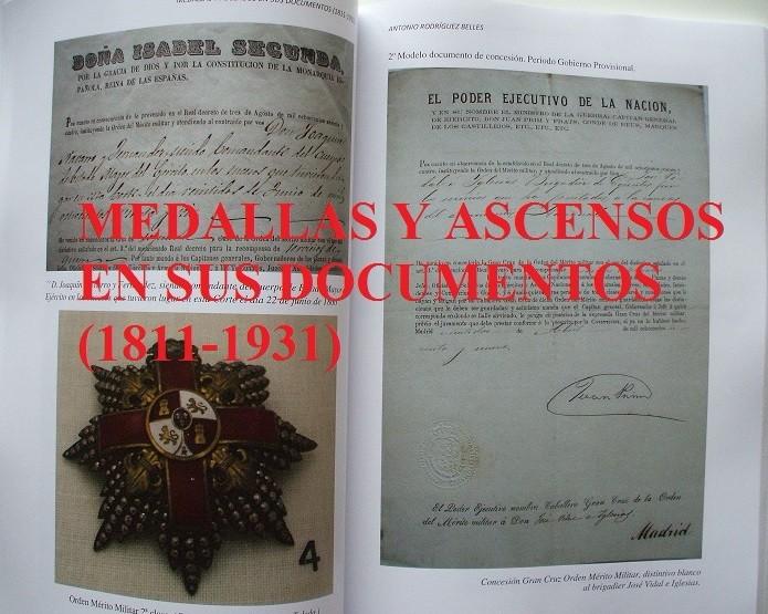 Militaria: Medallas y ascensos en sus documentos 1811-1931 - Foto 8 - 106978926