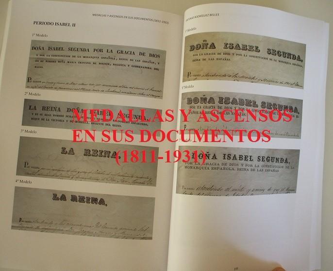 Militaria: Medallas y ascensos en sus documentos 1811-1931 - Foto 9 - 106978926