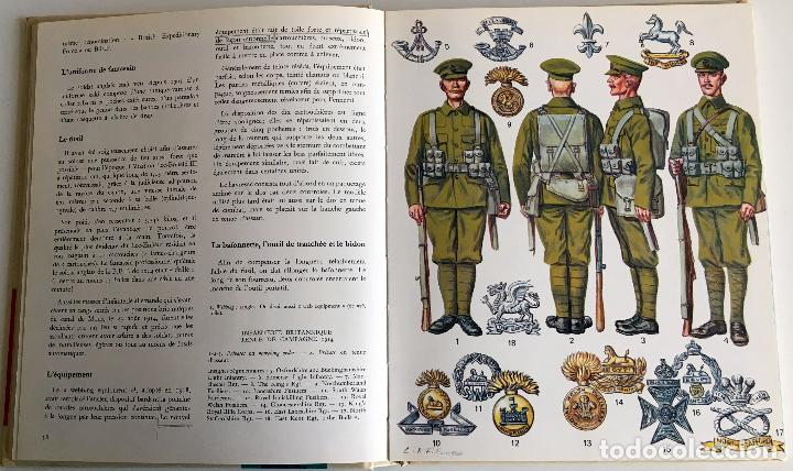 Militaria: LIBRO: LUNIFORME ET LES ARMES DES SOLDATS DE LA GUERRE 1914 - 1918. - Foto 6 - 105927159