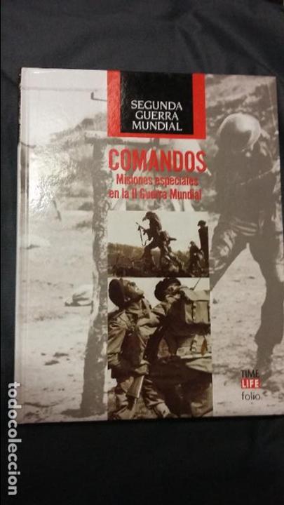 COMANDOS. SEGUNDA GUERRA MUNDIAL, TIME LIFE (Militar - Libros y Literatura Militar)