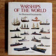 Militaria: WARSHIPS OF THE WORLD - BARCOS DE GUERRA DEL MUNDO . Lote 106018571