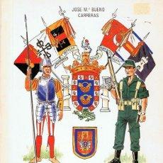 Militaria: UNIFORMES DE LAS UNIDADES MILITARES DE LA CIUDAD DE MELILLA JOSE Mª BUENO CARRERAS. Lote 106931211