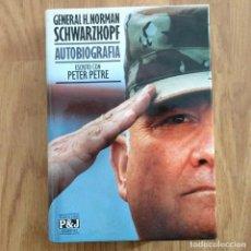 Militaria: GUERRA DEL GOLFO IRAK - GENERAL H. NORMAN SCHWARZKOPF AUTOBIOGRAFÍA - PETER PETRE IRAQ. Lote 107089531