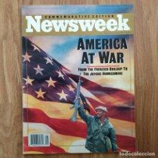 Militaria: GUERRA DEL GOLFO IRAK - VERANO DE 1991 - NEWSWEEK CONMEMORATIVO DE LA VICTORIA - IRAQ SADAM HUSEIM. Lote 107097363