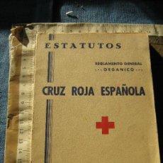 Militaria: CRUZ ROJA ESPAÑOLA 1968 - ESTATUTOS REGLAMENTO GENERAL ORGANICO. Lote 107416063
