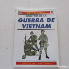 Militaria: PHILIP KATCHER, MIKE CHAPPELL. CARROS DE COMBATE Nº 39. EJÉRCITOS DE LA GUERRA DE VIETNAM. RMT85191.. Lote 107887867