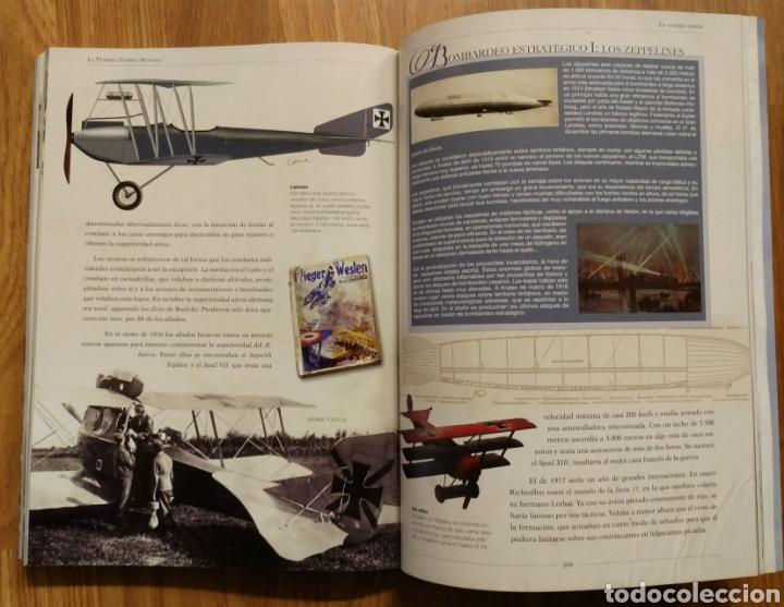 Militaria: LA PRIMERA GUERRA MUNDIAL - JUAN VÁZQUEZ GARCÍA - GALLAND BOOKS - BARON ROJO AVIACION TRINCHERAS - Foto 5 - 108070887