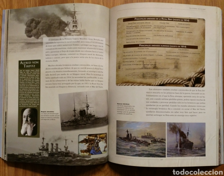 Militaria: LA PRIMERA GUERRA MUNDIAL - JUAN VÁZQUEZ GARCÍA - GALLAND BOOKS - BARON ROJO AVIACION TRINCHERAS - Foto 12 - 108070887