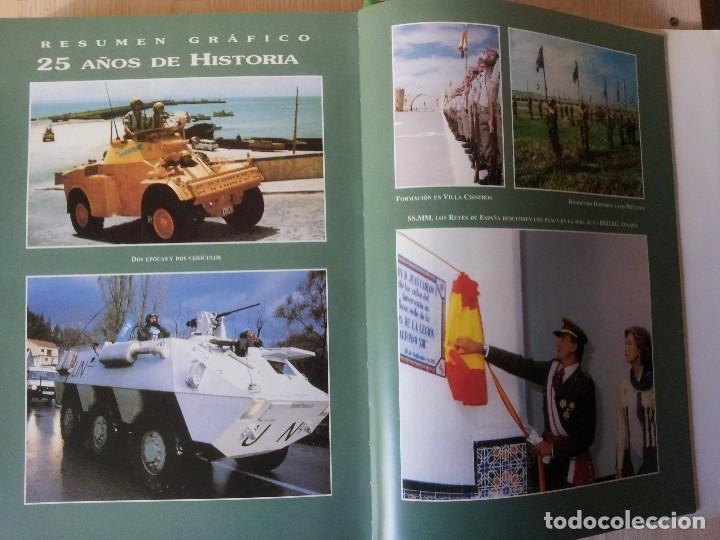 Militaria: LA LEGION ESPAÑOLA, 75 AÑOS DE HISTORIA 1920-1995 - TOMO III DE 1971/1995 - MALAGA 2001 - Foto 3 - 108275307