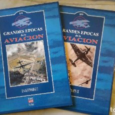 Militaria: GRANDES EPOCAS DE LA AVIACION: LUFTWAFFE (2 TOMOS. ED. TIME-LIFE FOLIO). Lote 108668467