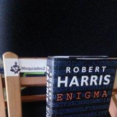 Militaria: ENIGMA - ROBERT HARRIS (NOVELA EN TAPA DURA CON SOBRECUBIERTA EN INGLÉS). Lote 108809627
