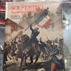 Militaria: SOLFERINO. THE BIRTH OF A NATION. Lote 108994630