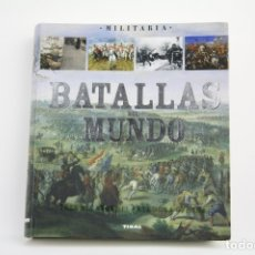 Militaria: LIBRO TAPA BLANDA - BATALLAS DEL MUNDO. PAOLO CAU - EDIT. SUSAETA - MEDIDAS 16,5 X 18,5 X 3 CM. Lote 109275079