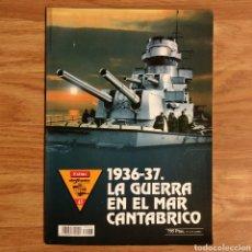 Militaria: GUERRA CIVIL - 1936-37 LA GUERRA EN EL MAR CANTÁBRICO - EXTRA REVISTA DEFENSA ESPAÑOLA. Lote 109466063