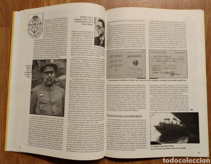 Militaria: GUERRA CIVIL - LOS VASCOS EN LA BATALLA DE SANTANDER -1937 - MEMORIA DE LA GUERRA EN EUSKADI EUZKADI - Foto 2 - 109893031