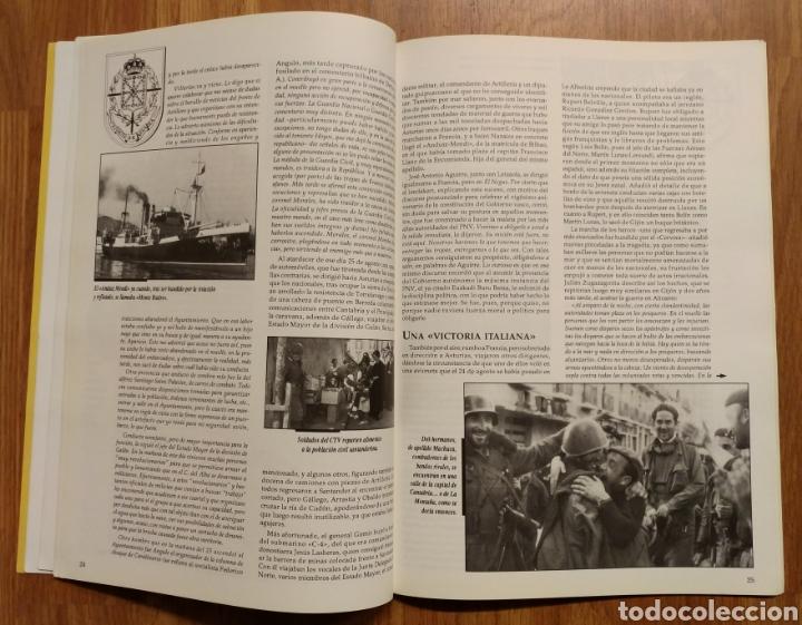 Militaria: GUERRA CIVIL - LOS VASCOS EN LA BATALLA DE SANTANDER -1937 - MEMORIA DE LA GUERRA EN EUSKADI EUZKADI - Foto 3 - 109893031