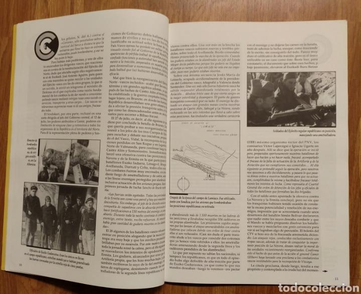 Militaria: GUERRA CIVIL - LOS VASCOS EN LA BATALLA DE SANTANDER -1937 - MEMORIA DE LA GUERRA EN EUSKADI EUZKADI - Foto 4 - 109893031