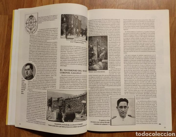 Militaria: GUERRA CIVIL - LOS VASCOS EN LA BATALLA DE SANTANDER -1937 - MEMORIA DE LA GUERRA EN EUSKADI EUZKADI - Foto 6 - 109893031