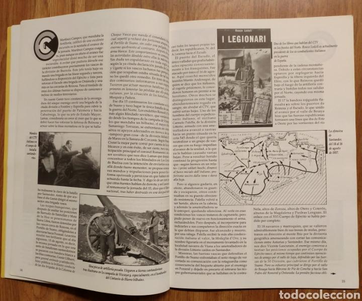 Militaria: GUERRA CIVIL - LOS VASCOS EN LA BATALLA DE SANTANDER -1937 - MEMORIA DE LA GUERRA EN EUSKADI EUZKADI - Foto 7 - 109893031