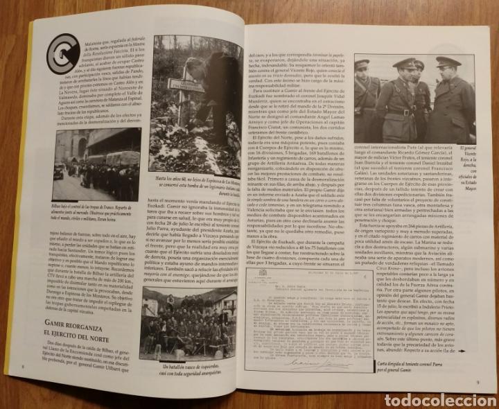 Militaria: GUERRA CIVIL - LOS VASCOS EN LA BATALLA DE SANTANDER -1937 - MEMORIA DE LA GUERRA EN EUSKADI EUZKADI - Foto 8 - 109893031