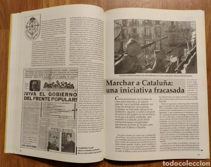 Militaria: GUERRA CIVIL - LOS VASCOS EN LA BATALLA DE SANTANDER -1937 - MEMORIA DE LA GUERRA EN EUSKADI EUZKADI - Foto 9 - 109893031