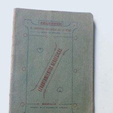 Militaria: APUNTES SOBRE LEVANTAMIENTOS GEODESICOS / CAPITAN MARIANO ABIZANDA DE LA VEGA / SEGOVIA 1921. Lote 109903783