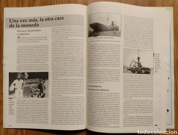 Militaria: GUERRA CIVIL - LOS AÑOS NEGROS (Y II) - MEMORIA DE LA GUERRA EN EUSKADI EUZKADI - Foto 3 - 109909795