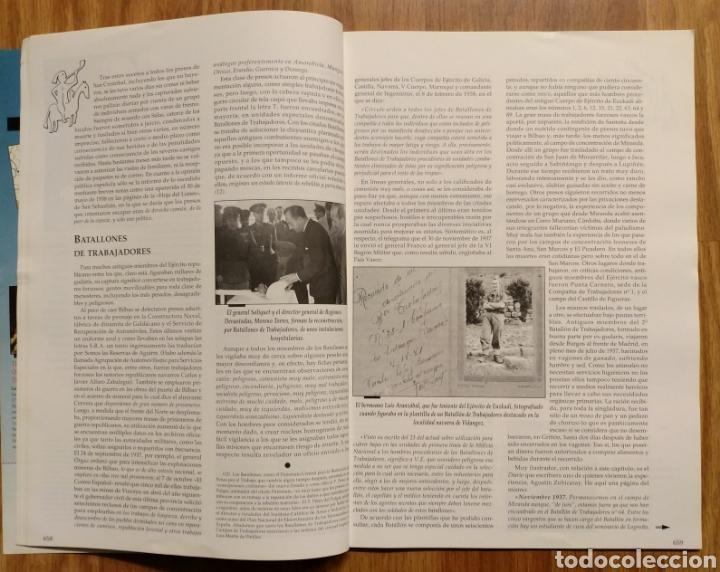 Militaria: GUERRA CIVIL - LOS AÑOS NEGROS (Y II) - MEMORIA DE LA GUERRA EN EUSKADI EUZKADI - Foto 5 - 109909795